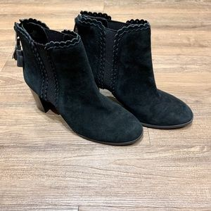 Alex Marie - suede black boots - size 6.5